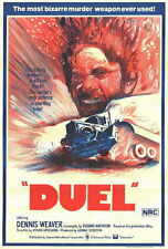 "DUEL Movie Poster [Licensed-NEW-USA] 27x40"" Theater Size Spielberg 1971"