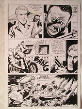 A L'ARME BLANCHE  SPECTACULAIRE PLANCHE GEANTE ELVIFRANCE  PAGE 4