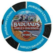 Badlands Harley-Davidson® Badlands Ride Full Color Poker Chip
