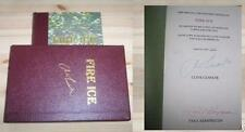 CLIVE CUSSLER FIRE ICE SIGNED LIMITED FIRST EDITION