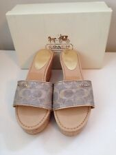 Coach Joanne Wedge Sandals Shoes - Size US 9 - New