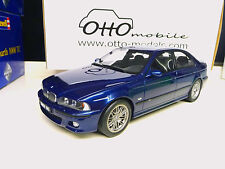 1:18 Otto Mobile BMW M5 E39 blue SHIPPING FREE WORLDWIDE