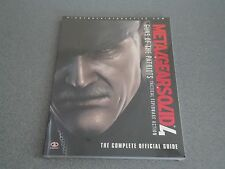 Metal Gear Solid 4 Guns Of The Patriots Paperback Gaming Guide    NEW & Sealed