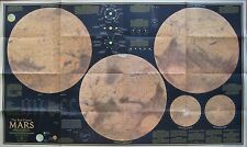 NASA MARINER 9 Mission Index Map Red Planet MARS 1973 Photos Deimos Phobos Rover