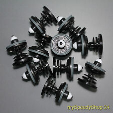 10x Türverkleidung Clips Klips VW Bus T5 Caddy Taureg Golf Passat Polo 7L6868243