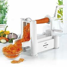 Salter Spiralizer Spiral Chopper Slicer Peeler Fruit Vegetable Noodle Machine