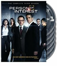 Person of Interest ~ Complete Third Season 3 Three ~ BRAND NEW 6-DISC DVD SET