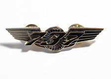 Boeing 737 Wings Pin Gold Pilot, Flight Attendant uniform accessory gift 55mm