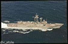 USS Boone FFG-28 postcard  US Navy Ship guided missile frigate