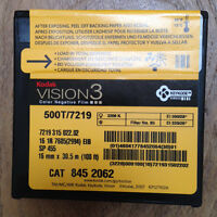100ft Kodak 16mm Vision3 500T 7219 Colour Neg Film Stock