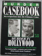 Murder Casebook Issue 58 - William Desmond Taylor, Thelma Todd