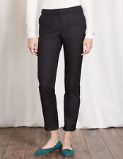 Boden Richmond 7/8 Trousers Black UK10 Petite BNWT