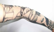 1 pair Fashion Tattoo Cool Arm Cover Sleeve Cuff Outdoor Sport UV Protection I