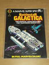 MARVEL SUPER SPECIAL BATTLESTAR GALACTICA TREASURY #8 FN+ (6.5) US COPY 1979