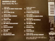 Nashville Gold Super Country Hits WAYLON JENNINGS DOLLY PARTON WILLIE NELSON