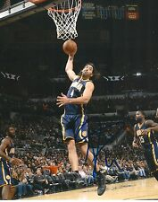 LUIS SCOLA  signed INDIANA PACERS 8X10 PHOTO COA