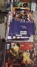 luke cage Comic lot villains for hire .1 1-4 heroes for hire 1-12 2011 1-15