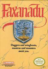Faxanadu NES Great Condition Fast Shipping