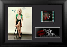 Film Cell Genuine 35mm Framed & Matted Marilyn Monroe Green Special Edition 5791
