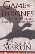 Game of Thrones (Part One) 1 : A Storm of Swords 9780007483846, TB