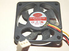 COLORFUL BALL BEARING BRUSHLESS EC-5010 CPU Lüfter Cooler Fan +++ 12V +++ 4,69 1
