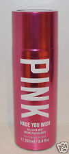 NEW VICTORIA'S SECRET PINK MADE YOU WISH BODY MIST SPRAY FRAGRANCE PERFUME LARGE