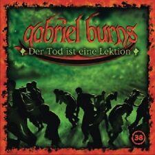 GABRIEL BURNS - 38/DER TOD IST EINE LEKTION  CD NEU