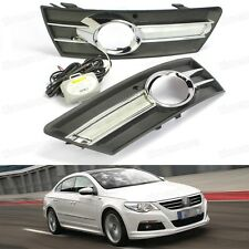 LED Daytime Running Lights DRL Fog Light Lamp Cover for VW Passat CC 2008-2011