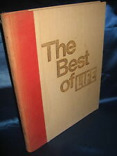 THE BEST OF LIFE / TIME-LIFE BOOKS / DAVID E. SCHERMAN / 1973 / RELIE TOILE