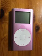 Genuino Original Apple iPod Mini 2nd Generación Rosa (6GB) Envío rápido