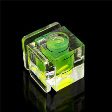 2 PCS1 One Axis Bubble Spirit Level Flash Hot Shoe Cover Cap for Canon Nikon