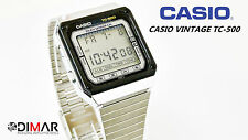 CASIO VINTAGE TC-500 CALCULATOR MODULO  119 JAPAN AÑO 1983 TOUCH SENSOR