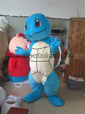 New Hallowee Squirtle Turtle Pokemon go pikachu Mascot Costume Adult Fancy Dress