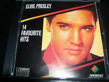 Elvis Presley 14 Favourite Hits Rare Australian Rainbow Best Of CD