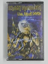 IRON MAIDEN Live After Death Cassette Tape Heavy Metal Rock Melodic Audio Vintag