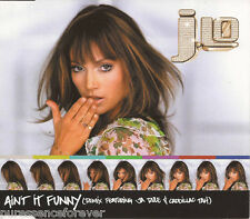 JENNIFER LOPEZ - Ain't It Funny (Remix) (UK 4 Trk Enh CD Single)