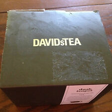 DavidsTea Dash Teapot with Stainless Steel Infuser Brand New