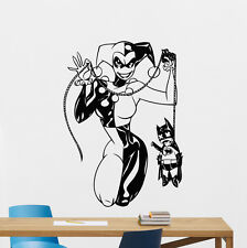 Harley Quinn Batman Wall Decal Comics Superheroes Vinyl Sticker Decor Mural 9zzz