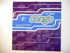 """MAXI 12"""" POP 80s  ▒ THE BOSS : CONGO ( D MAX MIX + D. MORALES - 9'45 )"""