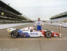 ARIE LUYENDYK 1997 INDIANAPOLIS INDY 500 WINNER 8x10 PHOTO