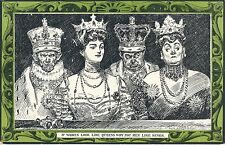 POSTCARD   COMIC    If  women look  like Queens....  Gibson