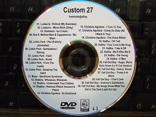 CUSTOM MIX VOL 27 MUSIC VIDEO DVD LUDACRIS RAEKWON LINKIN PARK SHAKIRA KE$HA
