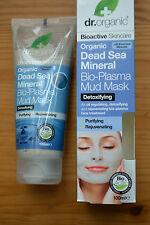 Dr. Organic Dead Sea Mineral Bio-Plasma Mud mask 100ml RRP £8.29
