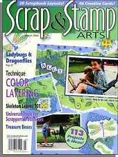 Scrap & Stamp Arts - 2004, March - 20 Scrapbook Layouts, 46 Creative Cards!