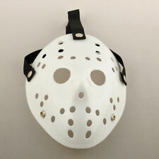 Jason Voorhees All White Mask - Dress Up - Halloween - Cosplay - Your Choice!