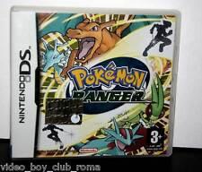 POKEMON RANGER GIOCO USATO DS & 3DS EDIZIONE ITALIANA MANUALE MANCANTE PAL FR1