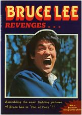 Rare BRUCE LEE Revenges (Fist Of Fury) w/Photo Hong Kong Jeet Kune Do Club 1977