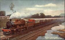 Eisenbahn ~1930 Railway Express Bombay Poona Mail Great Indian Peninsula RLY