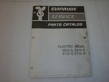 Evinrude Service Parts Catalog 1975 Electric Number 279793