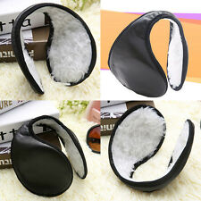 Chic Mens Womens Winter Fleece Behind the Head Band Design Ear Muff Soft Warmers
